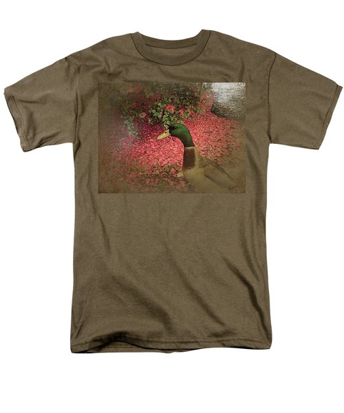 Men's T-Shirt  (Regular Fit) featuring the painting O'malley by YoMamaBird Rhonda