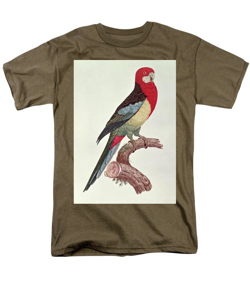 Omnicolored Parakeet Men's T-Shirt  (Regular Fit) by Jacques Barraband
