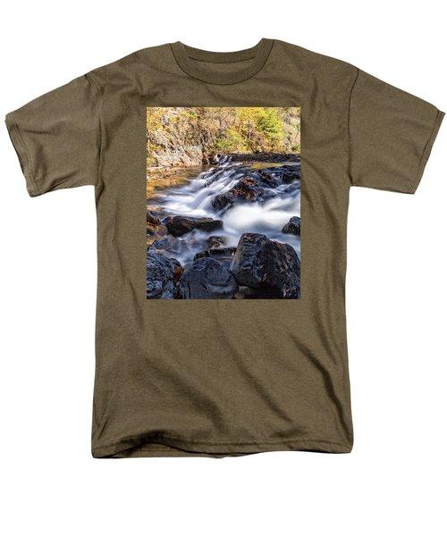 Men's T-Shirt  (Regular Fit) featuring the photograph On Jennings Creek by Alan Raasch