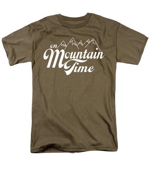 On Mountain Time Men's T-Shirt  (Regular Fit)