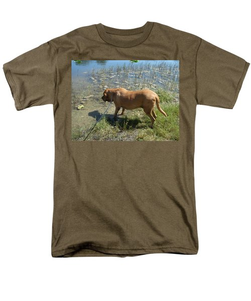 On The Hunt Men's T-Shirt  (Regular Fit) by Val Oconnor