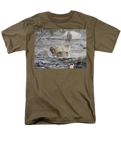 Men's T-Shirt  (Regular Fit) featuring the photograph On The Lookout by Betty-Anne McDonald