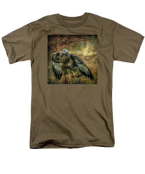 Men's T-Shirt  (Regular Fit) featuring the photograph On The Lookout by Brian Tarr