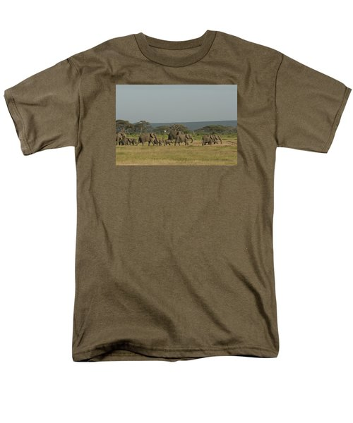 Men's T-Shirt  (Regular Fit) featuring the photograph On The Move by Gary Hall