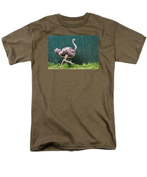 Men's T-Shirt  (Regular Fit) featuring the photograph On The Run by Debra     Vatalaro