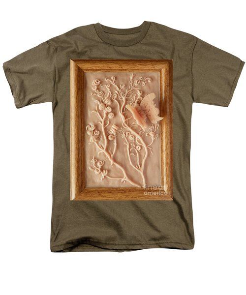 On The Way To Bronze - Alfalfa And Anglewing Men's T-Shirt  (Regular Fit) by Dawn Senior-Trask
