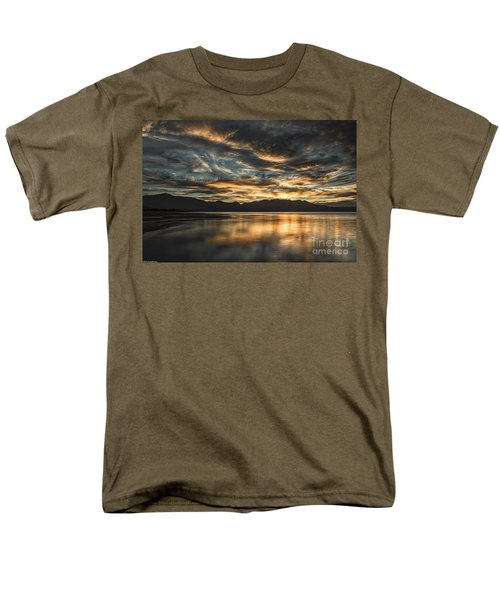 On The Wings Of The Night Men's T-Shirt  (Regular Fit) by Mitch Shindelbower