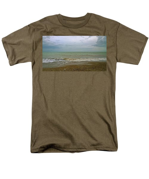 Men's T-Shirt  (Regular Fit) featuring the photograph On Weymouth Beach by Anne Kotan