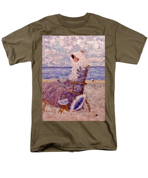 Men's T-Shirt  (Regular Fit) featuring the painting Once Upon A Time II by Cristina Mihailescu
