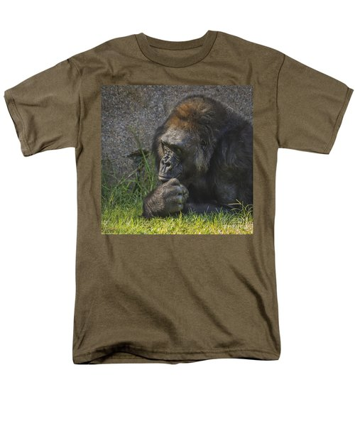 One Of These Days Alice Men's T-Shirt  (Regular Fit) by Mitch Shindelbower
