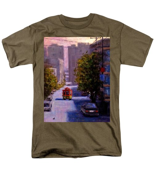One Quiet Afternoon In San Francisco.. Men's T-Shirt  (Regular Fit) by Cristina Mihailescu