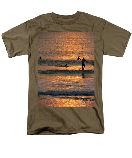 One With Nature Men's T-Shirt  (Regular Fit) by Greg Patzer