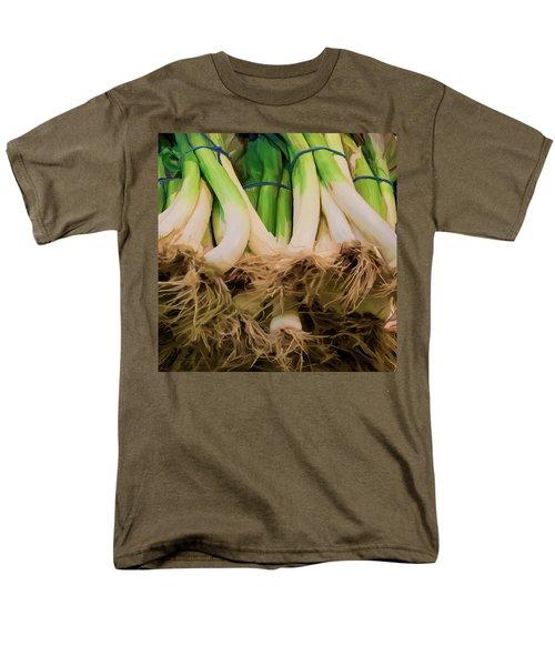 Onions 02 Men's T-Shirt  (Regular Fit) by Wally Hampton