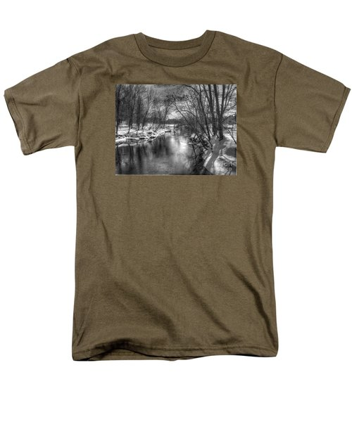 Men's T-Shirt  (Regular Fit) featuring the photograph Open River by Betsy Zimmerli