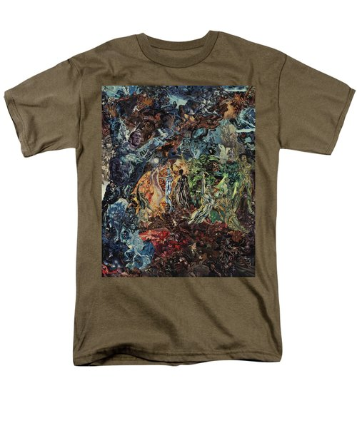 Opening Of The Fifth Seal After El Greco Men's T-Shirt  (Regular Fit) by Joshua Redman