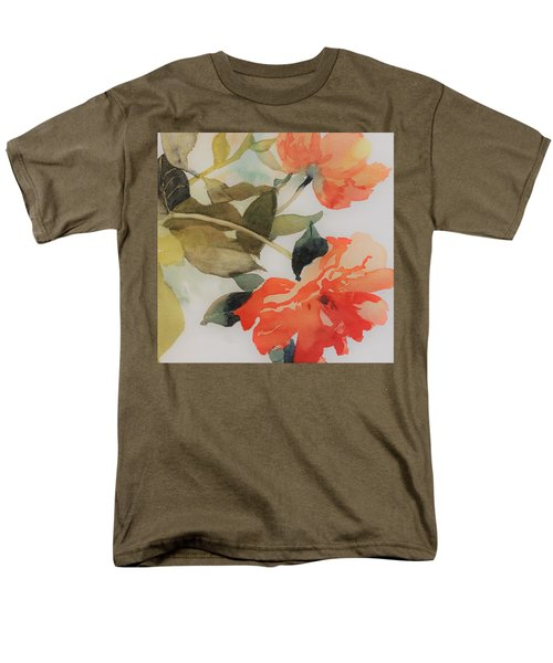 Men's T-Shirt  (Regular Fit) featuring the painting Orange Blossom Special by Elizabeth Carr