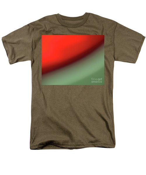 Men's T-Shirt  (Regular Fit) featuring the photograph Orange Red Green by CML Brown