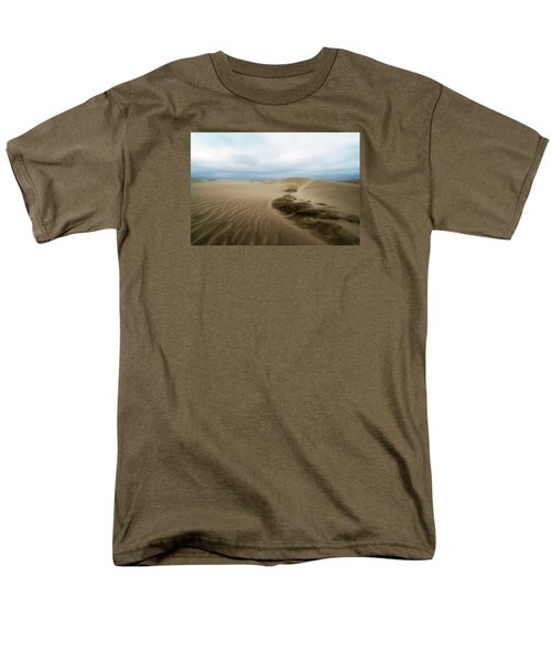 Oregon Dune Wasteland 1 Men's T-Shirt  (Regular Fit) by Ryan Manuel