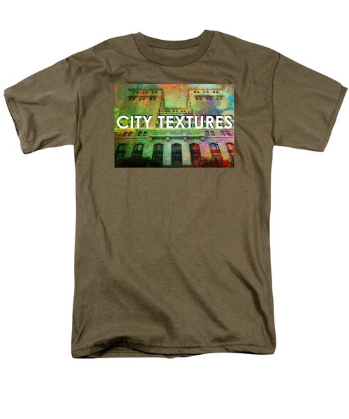 Organic City Textures Men's T-Shirt  (Regular Fit) by John Fish