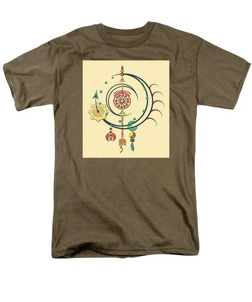 Ornament Variation Three Men's T-Shirt  (Regular Fit) by Deborah Smith