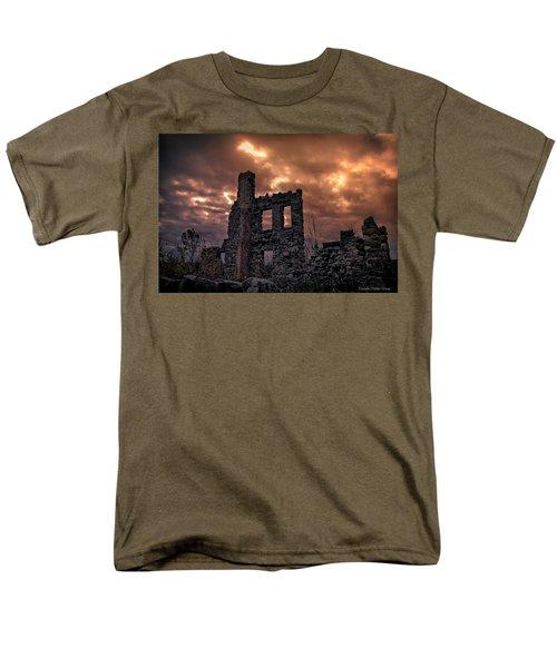 Osler Castle Men's T-Shirt  (Regular Fit) by Michaela Preston