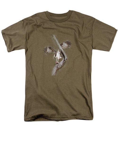 Osprey Tee-shirt Men's T-Shirt  (Regular Fit) by Donna Brown