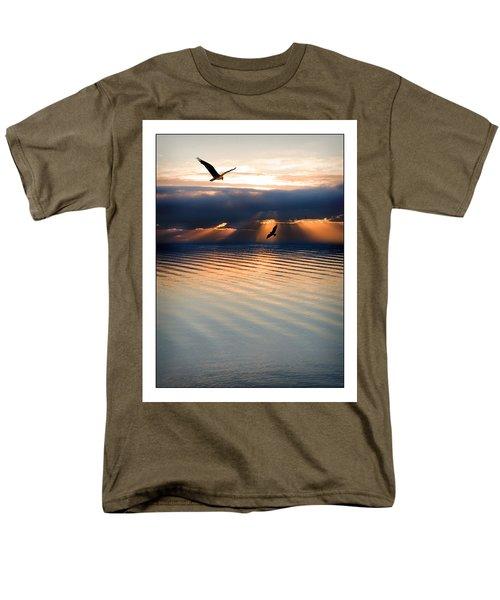 Ospreys Men's T-Shirt  (Regular Fit) by Mal Bray