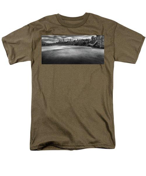 Ottawa Spring Flood Men's T-Shirt  (Regular Fit)