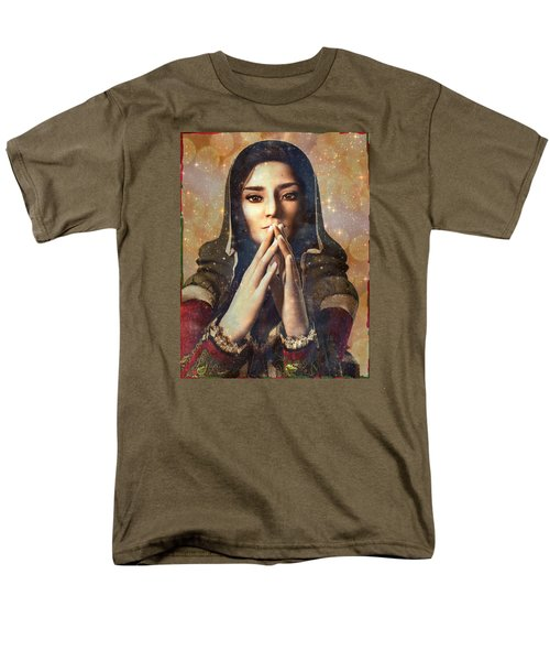 Our Lady Of Guadalupe Men's T-Shirt  (Regular Fit) by Suzanne Silvir