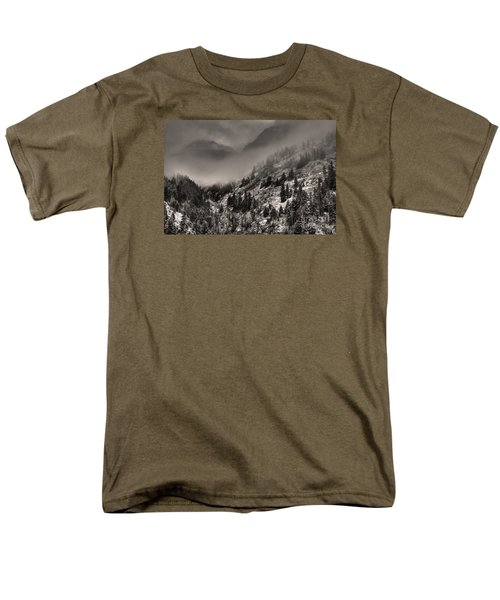 Ouray In Chinese Brush IIi Men's T-Shirt  (Regular Fit) by William Fields