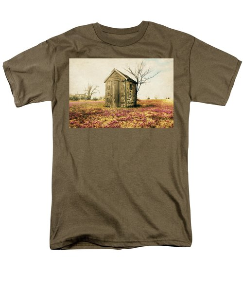 Men's T-Shirt  (Regular Fit) featuring the photograph Outhouse by Julie Hamilton