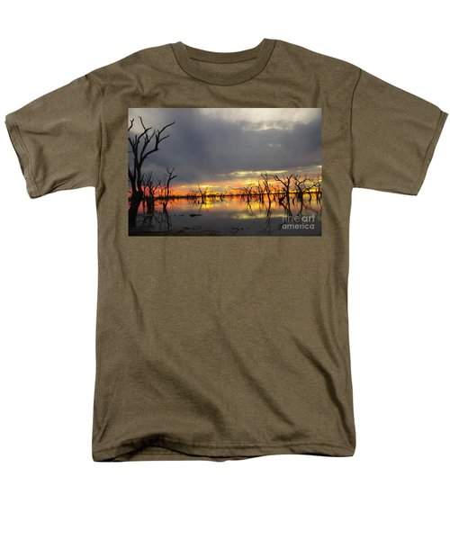 Outback Sunset Men's T-Shirt  (Regular Fit) by Blair Stuart