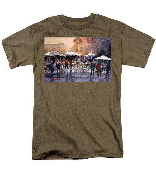 Outdoor Market - Rome Men's T-Shirt  (Regular Fit) by Ryan Radke