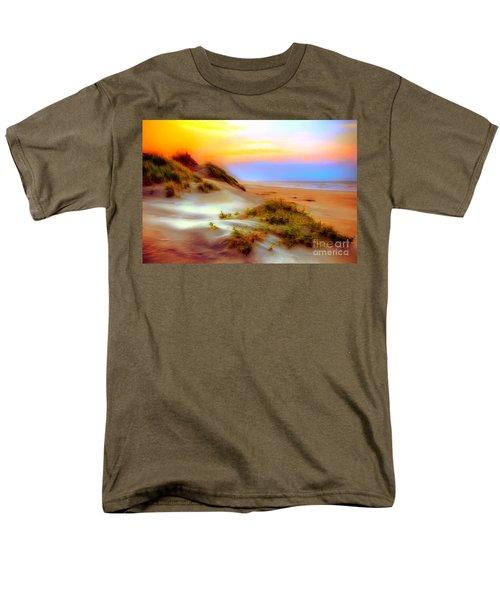 Outer Banks Soft Dune Sunrise Ap Men's T-Shirt  (Regular Fit) by Dan Carmichael