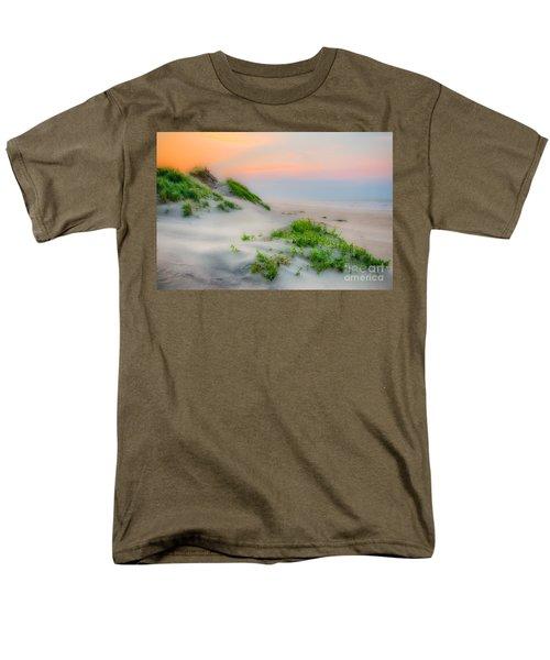 Outer Banks Soft Dune Sunrise Men's T-Shirt  (Regular Fit) by Dan Carmichael