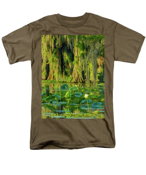 Outstanding Lotus Men's T-Shirt  (Regular Fit) by Kimo Fernandez
