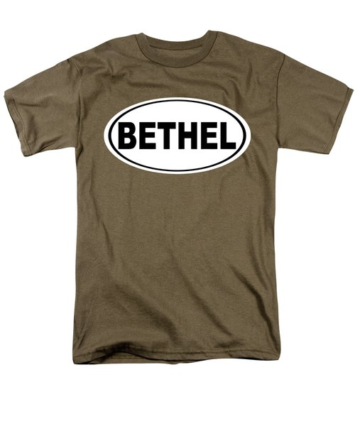 Men's T-Shirt  (Regular Fit) featuring the photograph Oval Bethel Connecticut Home Prid by Keith Webber Jr