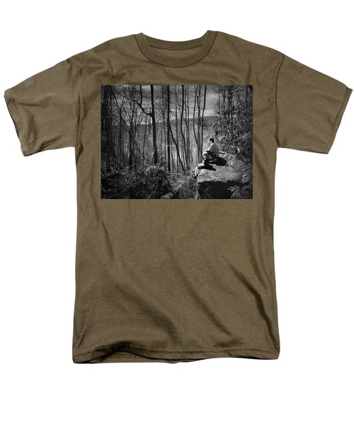 Overlook By Rainbow Falls Men's T-Shirt  (Regular Fit) by Kelly Hazel
