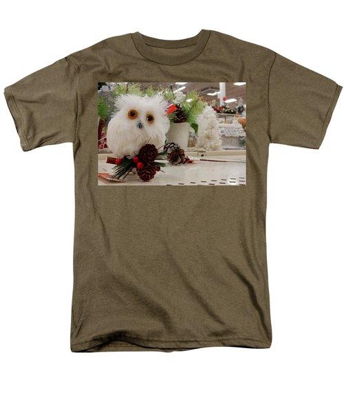 Owl On The Shelf Men's T-Shirt  (Regular Fit) by Betty-Anne McDonald