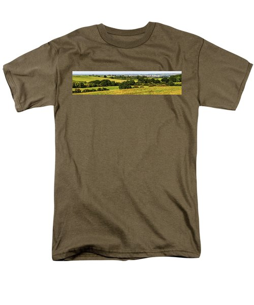 Oxford Spires And Countrysidepanorama Men's T-Shirt  (Regular Fit) by Ken Brannen
