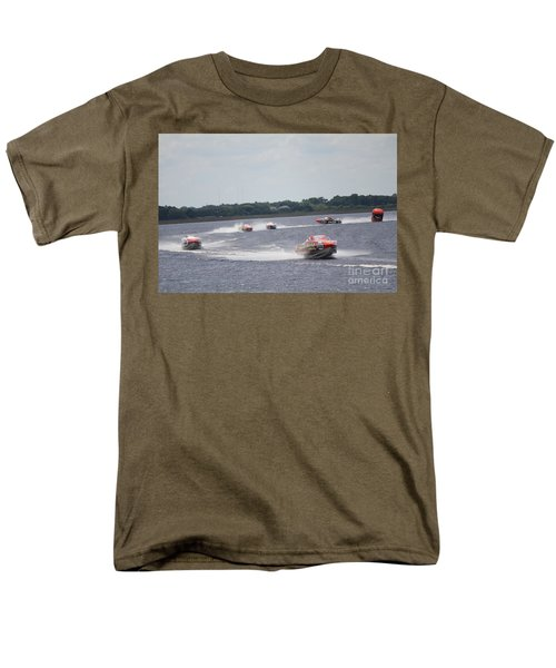 Men's T-Shirt  (Regular Fit) featuring the photograph P1 Powerboats Orlando 2016 by David Grant