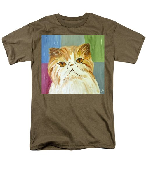 Men's T-Shirt  (Regular Fit) featuring the painting Pablo by Victoria Lakes