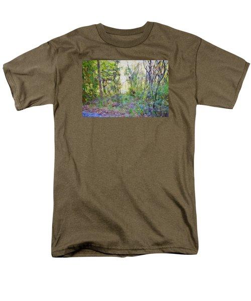 Painted Forrest Men's T-Shirt  (Regular Fit) by Rena Trepanier