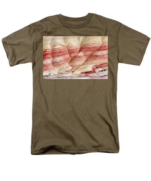 Men's T-Shirt  (Regular Fit) featuring the photograph Painted Hill Bumps by Greg Nyquist