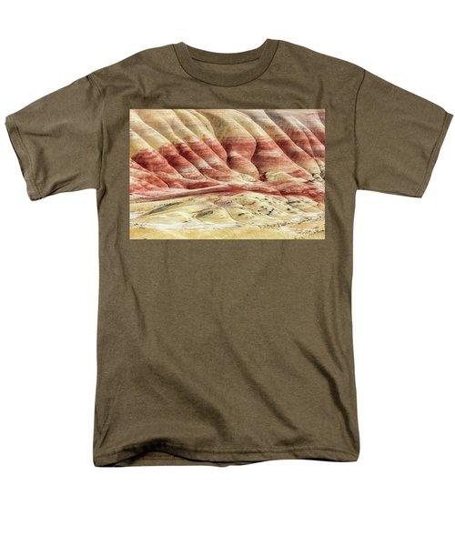 Painted Hills Landscape Men's T-Shirt  (Regular Fit) by Pierre Leclerc Photography