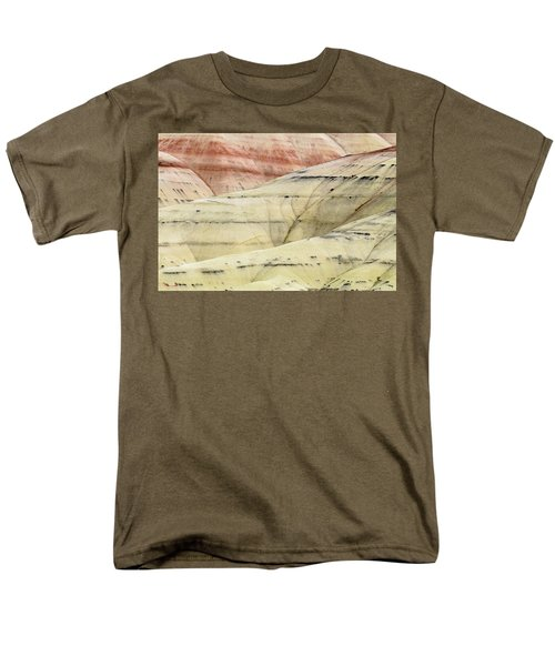 Men's T-Shirt  (Regular Fit) featuring the photograph Painted Hills Ridge by Greg Nyquist