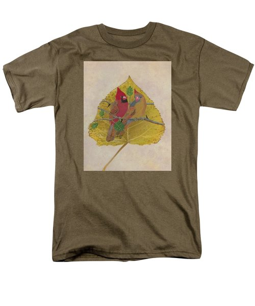 Pair Of Cardinals Men's T-Shirt  (Regular Fit) by Ralph Root