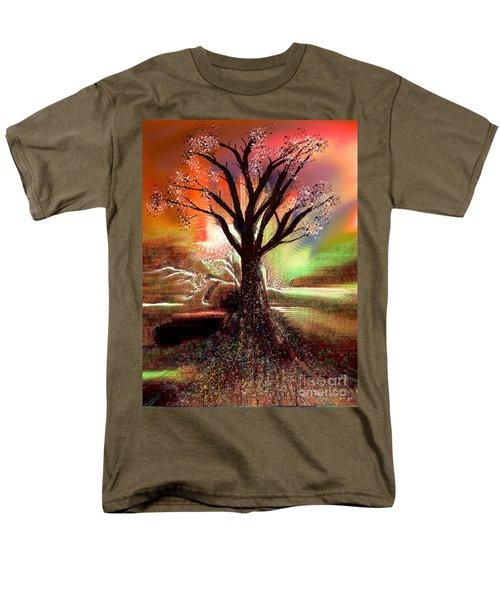 Pale Moonlight 2 Men's T-Shirt  (Regular Fit) by Yul Olaivar