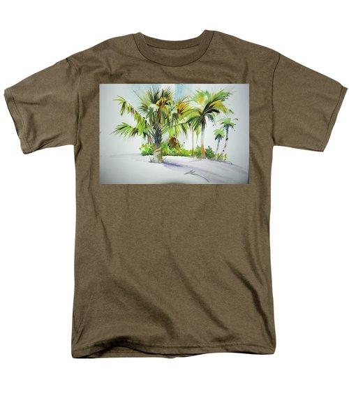 Palm Sunday Men's T-Shirt  (Regular Fit) by P Anthony Visco