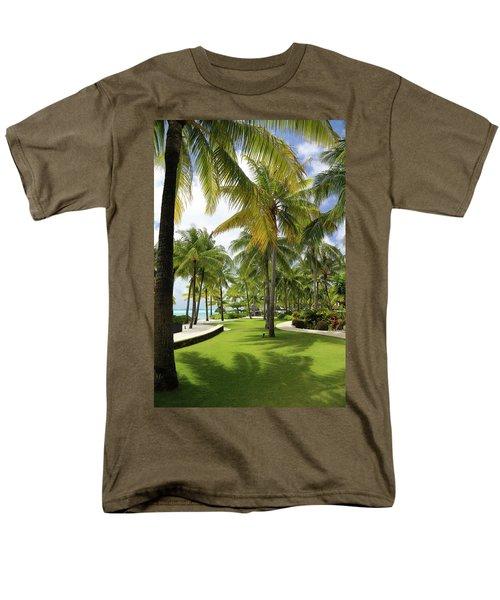 Palm Trees 2 Men's T-Shirt  (Regular Fit) by Sharon Jones